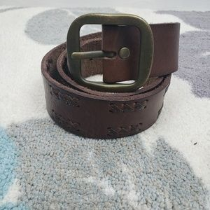 American Eagle Outfitters Brown Leather Belt small